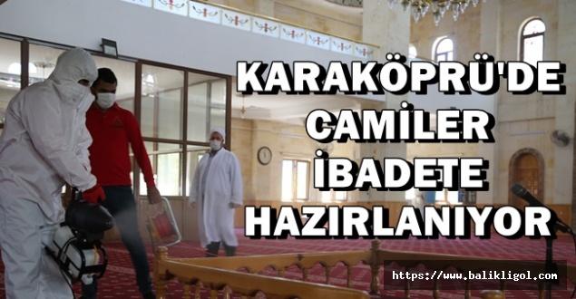 Hasretle Açılması Beklenen Camiler'de Temizlik Yapılıyor