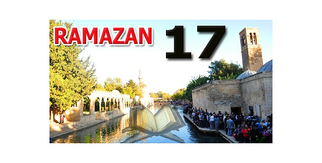 Kur'anı Kerim hatmi 17. cüz