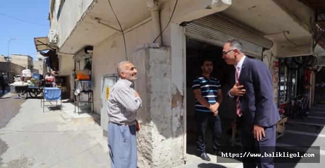 Mehmet Başkan Sokak Yasağının Ardından Esnaf Ziyaretinde