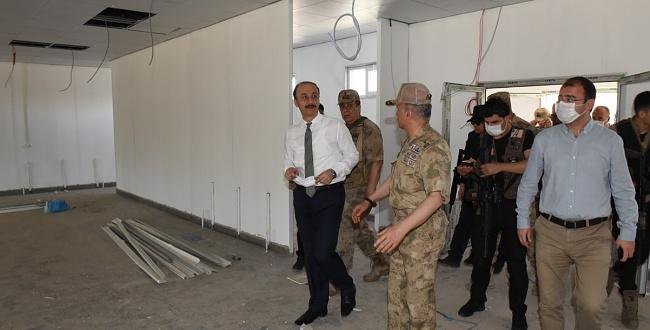Resulayn'da Jandarma Karakolu İnşa Ediliyor