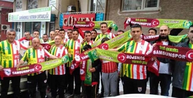 Samsunsporlu taraftarlar: Urfaspor yok olmasın