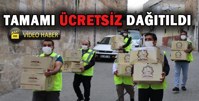 Şanlıurfa Büyükşehir 1 Milyon Maske Dağıttı