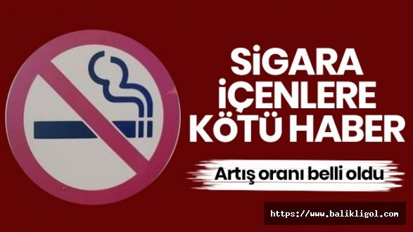 Sigaraya Zam Yolda! ÖTV Artışı Yapıldı
