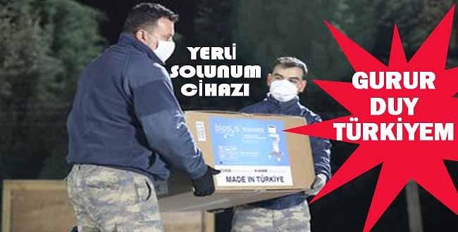 Türkiye gururla sunar! Somali'ye yerli üretim solunum cihazı gönderildi