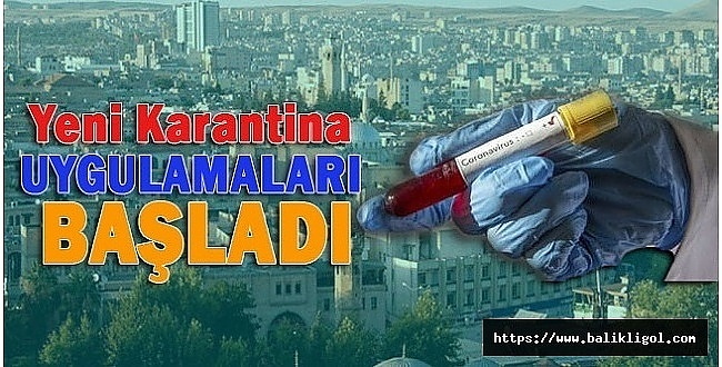 Viranşehir'de iki bina karantinaya alındı
