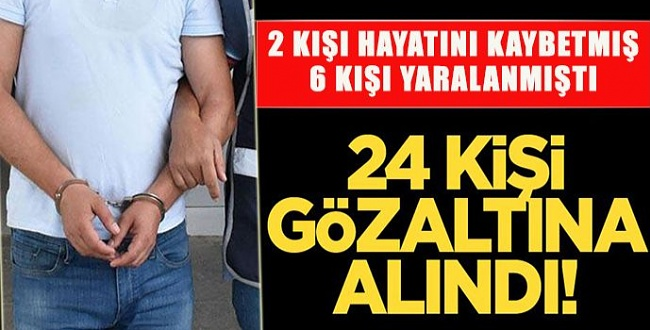 Viranşehir'de 2 kişinin öldüğü kavgada gözaltı kararı: 24 gözaltı