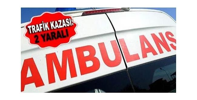 Şanlıurfa'da motosikletle otomobil çarpıştı: 2 yaralı