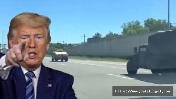 ABD askeri Washington'da sokağa indi