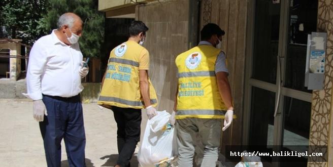 Belediye Karantina'daki Vatandaşlara Gıda Gönderdi