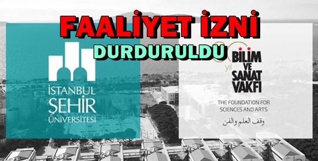 Davutoğlu'nun Şehir Üniversitesinin Faaliyetleri Tamamen Durduruldu