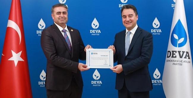 DEVA Partisi Şanlıurfa İl Başkanlığına Tüysüz Getirildi