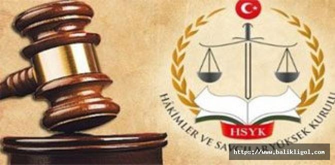 Hâkimler ve Savcılar Kuruluna Ait 5 Haziran 2020 Atama Kararı