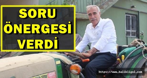 Milletvekili Aydınlık, Bozovalı Çiftçilerin Sorununu TBMM'ye Taşıdı