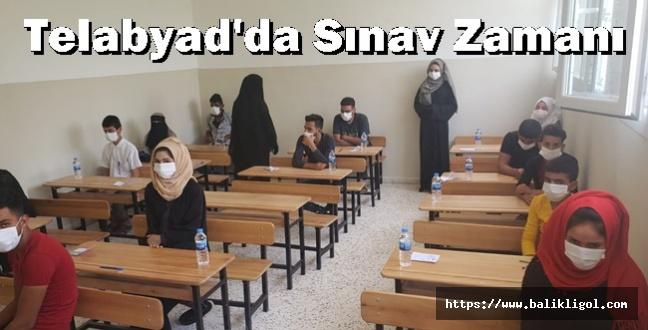 Telabayad'da Ortaokul Bitirme Sınavları Başladı