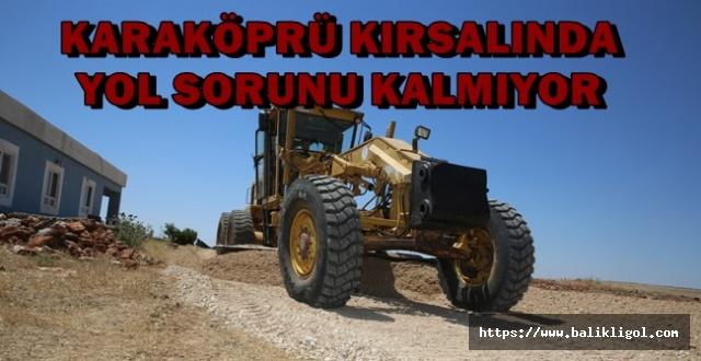 Türkmen Köy Yolları Yapıldı