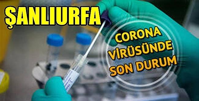 Urfa'da 8 Haziran Koronavirüs Vaka Sayısı Açıklandı