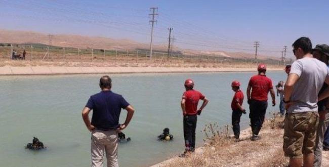 Urfa'da Sulama kanalına düşen Suriyeli kayboldu