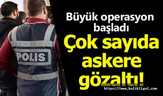 Yeni FETÖ operasyonu! 181 muvazzaf askere gözaltı kararı