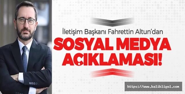 Fahrettin Altun'dan Sert Sosyal Medya Açıklaması: Çarpıtılmaya Çalışılıyor