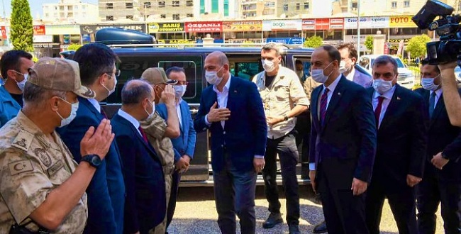 İçişleri Bakanı Süleyman Soylu Urfa'ya geldi