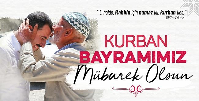 Karaköprü Belediye Başkanı Baydilli'den Kurban Bayramı Mesajı