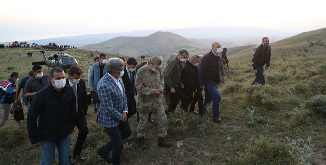 Keşif uçağı düştü: 7 polis şehit
