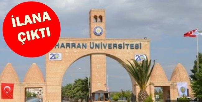 Resmi Gazetede İlan Edildi! Harran Üniversitesi 75 Sözleşmeli Personel alacak