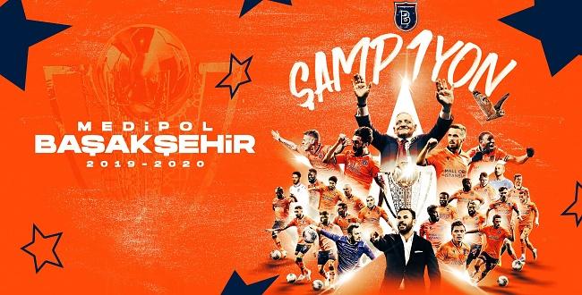 Süper Lig 2019-2020 Cemil Usta sezonunun şampiyonu: Medipol Başakşehir