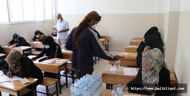 Telabyad ve Resulayn'da Lise Bitirme Sınavı Yapıldı