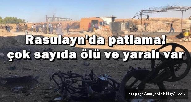 Terör Örgütü Arefe Günü Rasulayn'ı Kana Buladı
