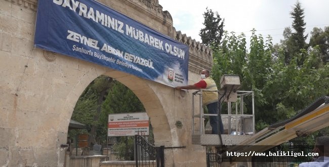 Urfa Büyükşehir'de Kurban Bayramı Hazırlıkları Tamam
