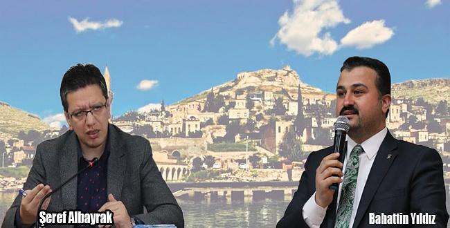 Başkan Şeref Albayrak ve Bahattin Yıldız'dan Öcalan'a sert yanıt