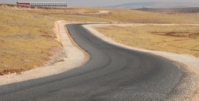 BESİ OSB yolu asfaltlandı