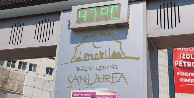 Şanlıurfa'da sıcaklar etkili oluyor