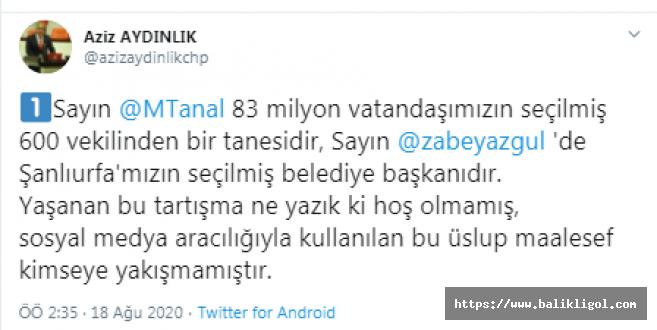 Tartışmalara CHP'li Aziz Aydınlık'ta Katıldı: hiç hoş olmamıştır