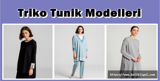Triko Tunik Modelleri