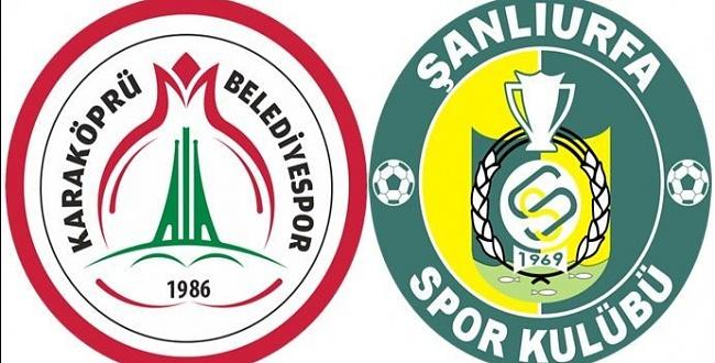 Karaköprü Belediyespor ve Şanlıurfaspor maçları canlı yayınlanıyor