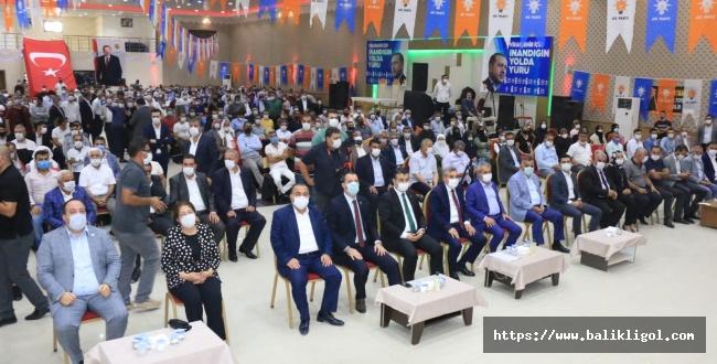 AK Parti Viranşehir'de Ali Tekin'le devam dedi