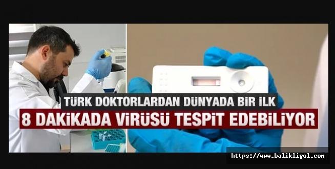 Bir Üniversite Geliştirdi: Çift antikorlu tanı kiti 8 dakikada virüsü yüzde yüz tespit edebiliyor