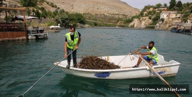 Halfeti'de Marina Temizliği Yapıldı