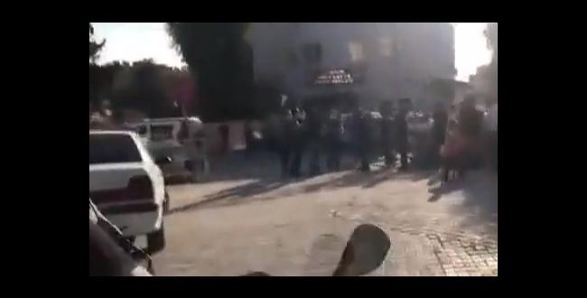 Şanlıurfa'da karakol önünde kavga: 7 yaralı