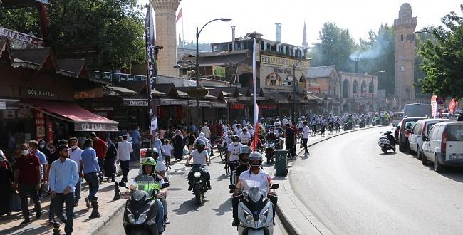 Şanlıurfa'da Sağlık İçin Pedal Çevirdiler