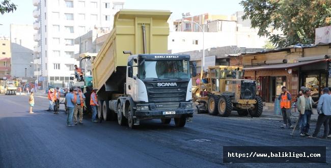 Sıcak Asfaltla Suruç'un çehresi değişiyor