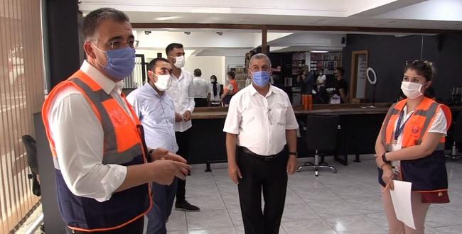 Urfa'da Denetimlere Tarım ve Orman İl Müdürü Bizzat Katıldı