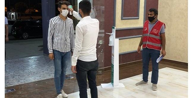 Urfa'da Koronavirüs Denetimleri Hafta Sonu Devam Etti