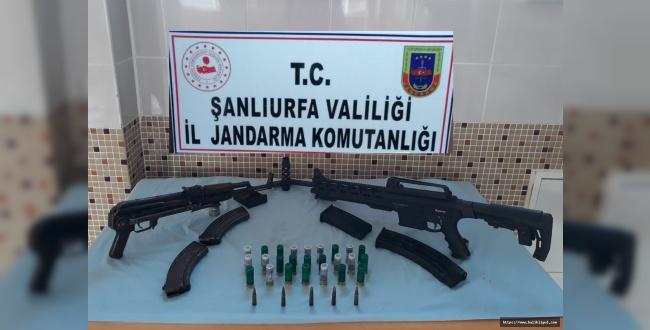 Urfa'da Silah kaçakçılarına operasyon: 3 kişi tutuklandı