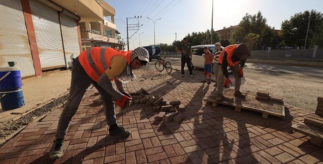 Büyükşehir Belediyesi Ceylanpınar'ın çehresini değiştiriyor