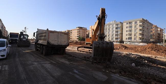 Büyükşehir Viranşehir'de Çalışmalarını Hızlandırdı