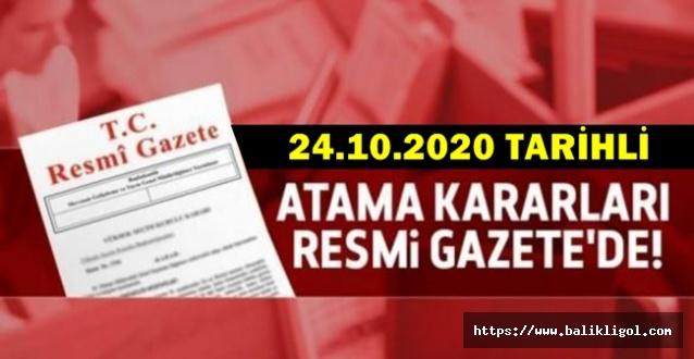 Erdoğan'dan Çok sayıda atama, Resmi Gazetede Yayımlandı