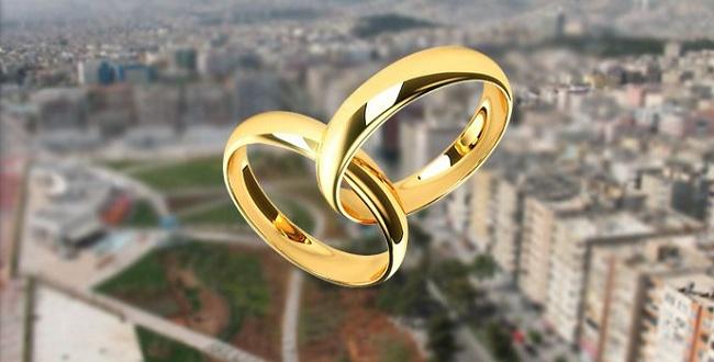Evlilik listesinde Şanlıurfa zirvede yer aldı!